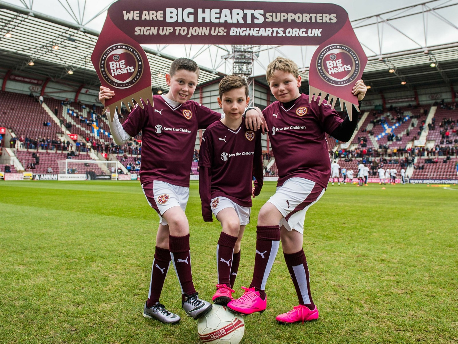 » Big Hearts Supporters' Open Event