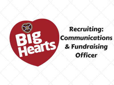 Recruiting Now: Communications & Fundraising Officer
