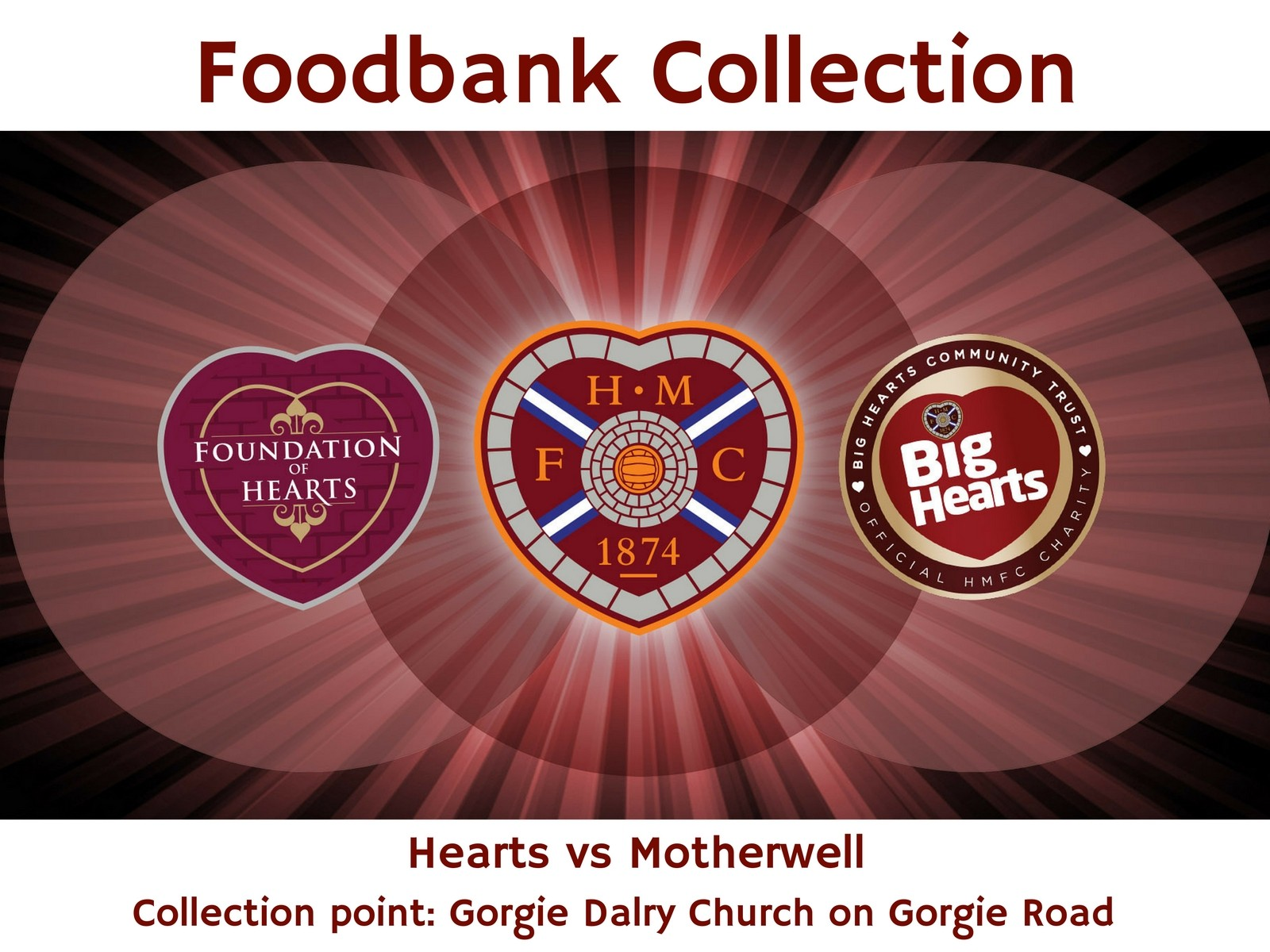 » Big Hearts & FoH Foodbank Collection – This Saturday!!