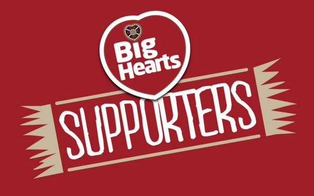 Big Hearts Supporters to Share Our News!