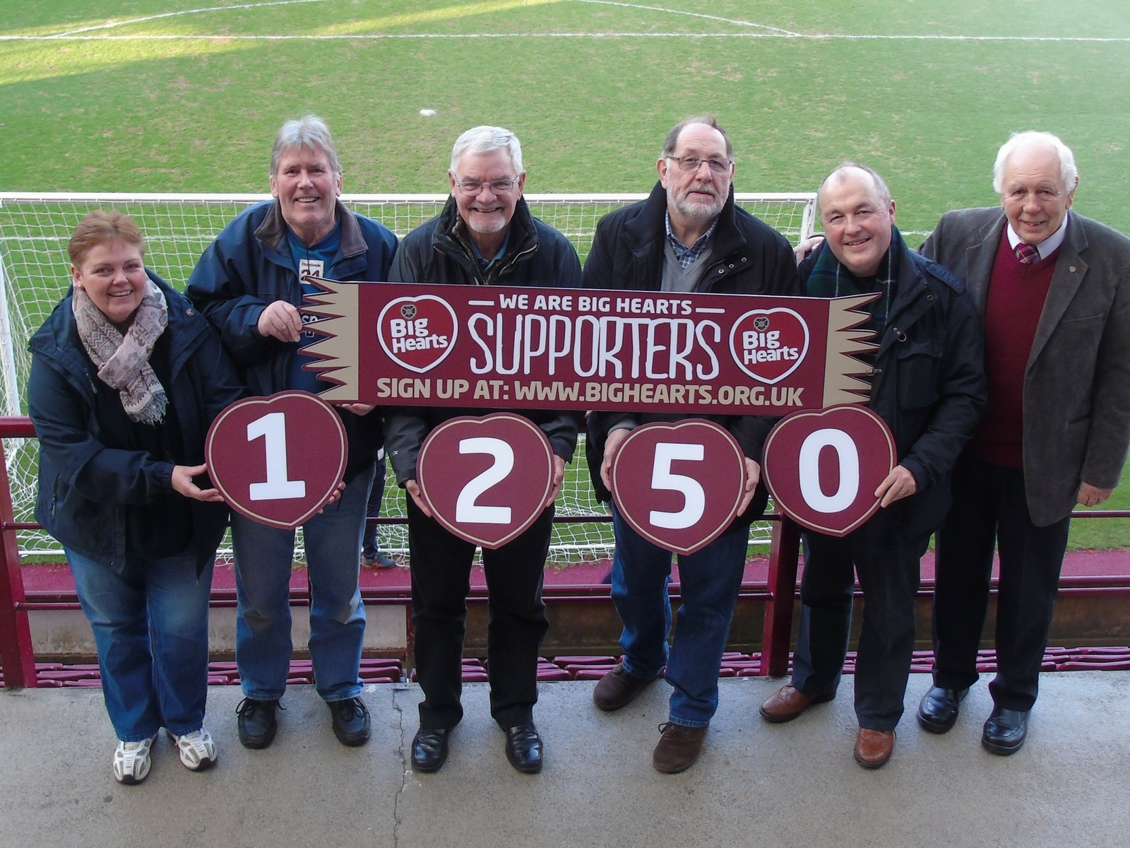 » Over 1250 Big Hearts Supporters Helping make a BIG Difference!