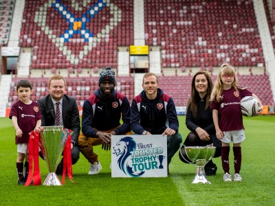 Trusted Trophy tour – A magical day for Kinship Care families