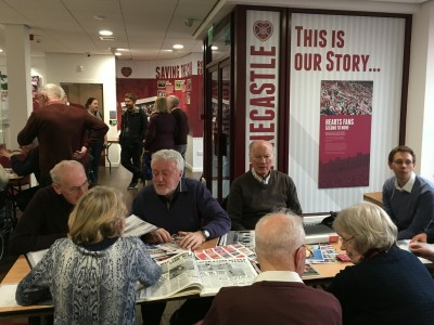 Football Memories 'On the road' – New group at Craigmillar Hearts