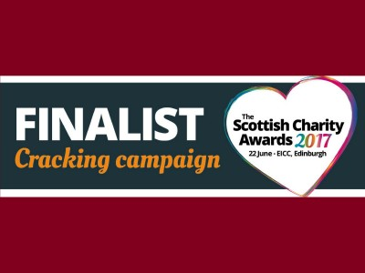Big Hearts named as finalist in the Scottish Charity Awards!