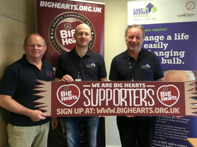 Big Hearts and Care & Repair partnership recognised by an award