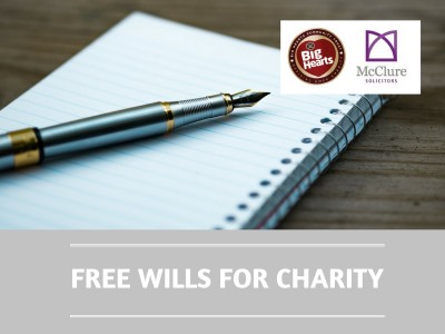 New fundraising partnership to provide 'Free wills for charity'