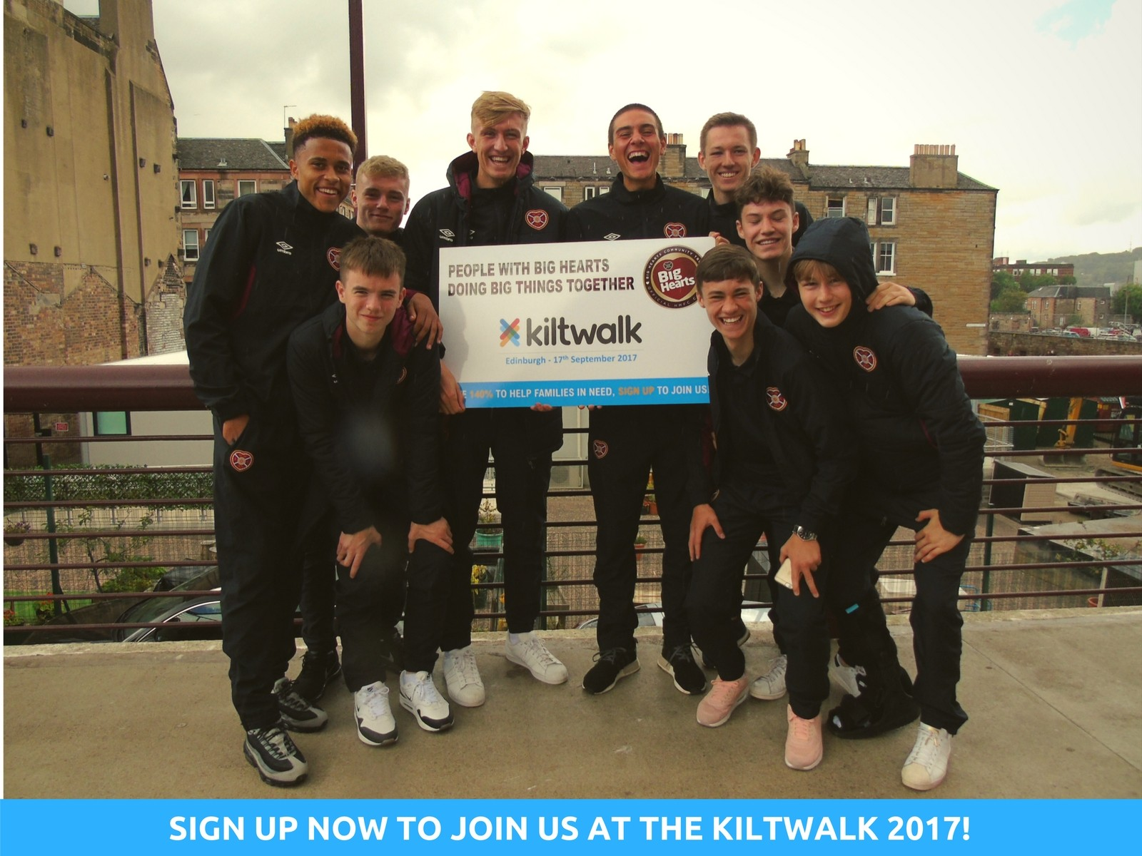 » JOIN BIG HEARTS' TEAM AT THE EDINBURGH KILTWALK!