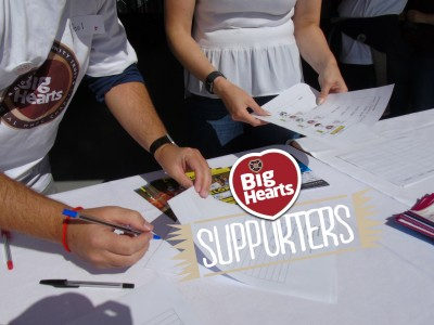 Visit Big Hearts at Edinburgh's Volunteer Fair 2017
