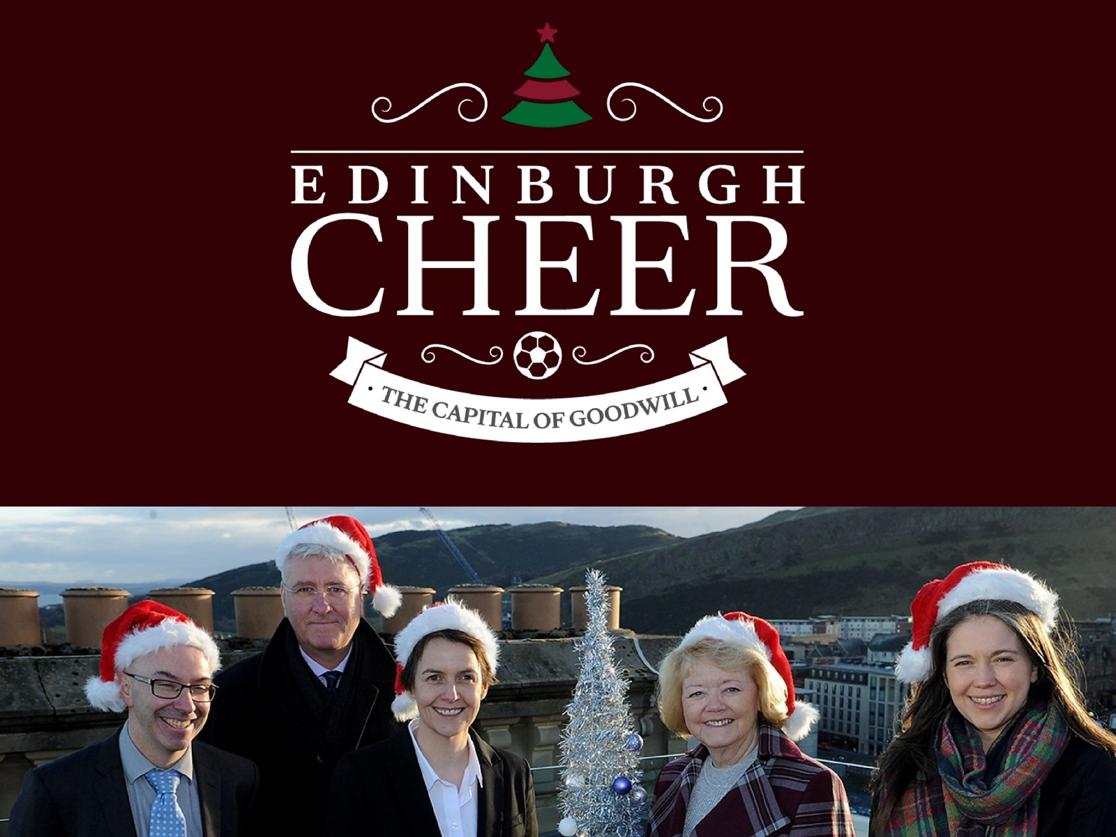 » CHRISTMAS CAMPAIGN – EDINBURGH CHEER