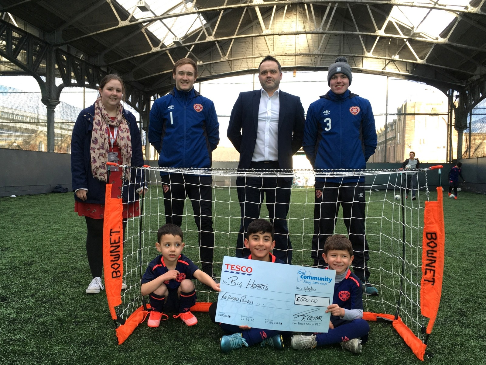 » More children accessing football holiday courses through Big Hearts!