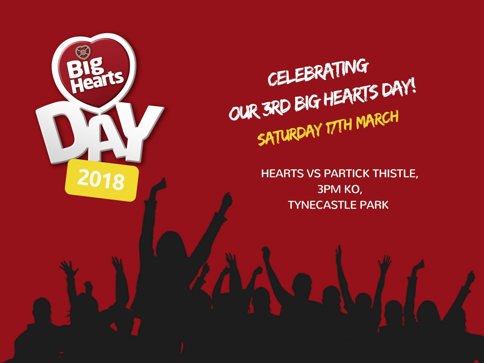 » Big Hearts Day on Saturday: over 600 match tickets for the community!