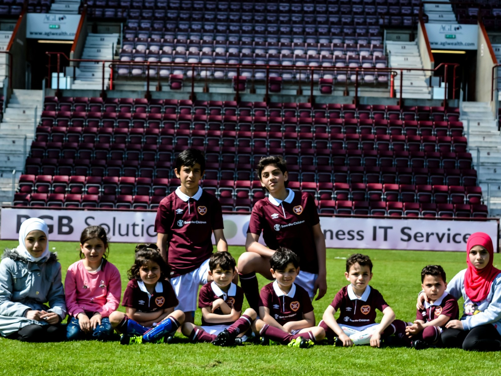 » Big Hearts supports Amnesty UK's Football Welcomes Weekend
