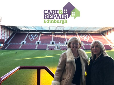 Big Hearts Trustee New Patron of Care & Repair Edinburgh