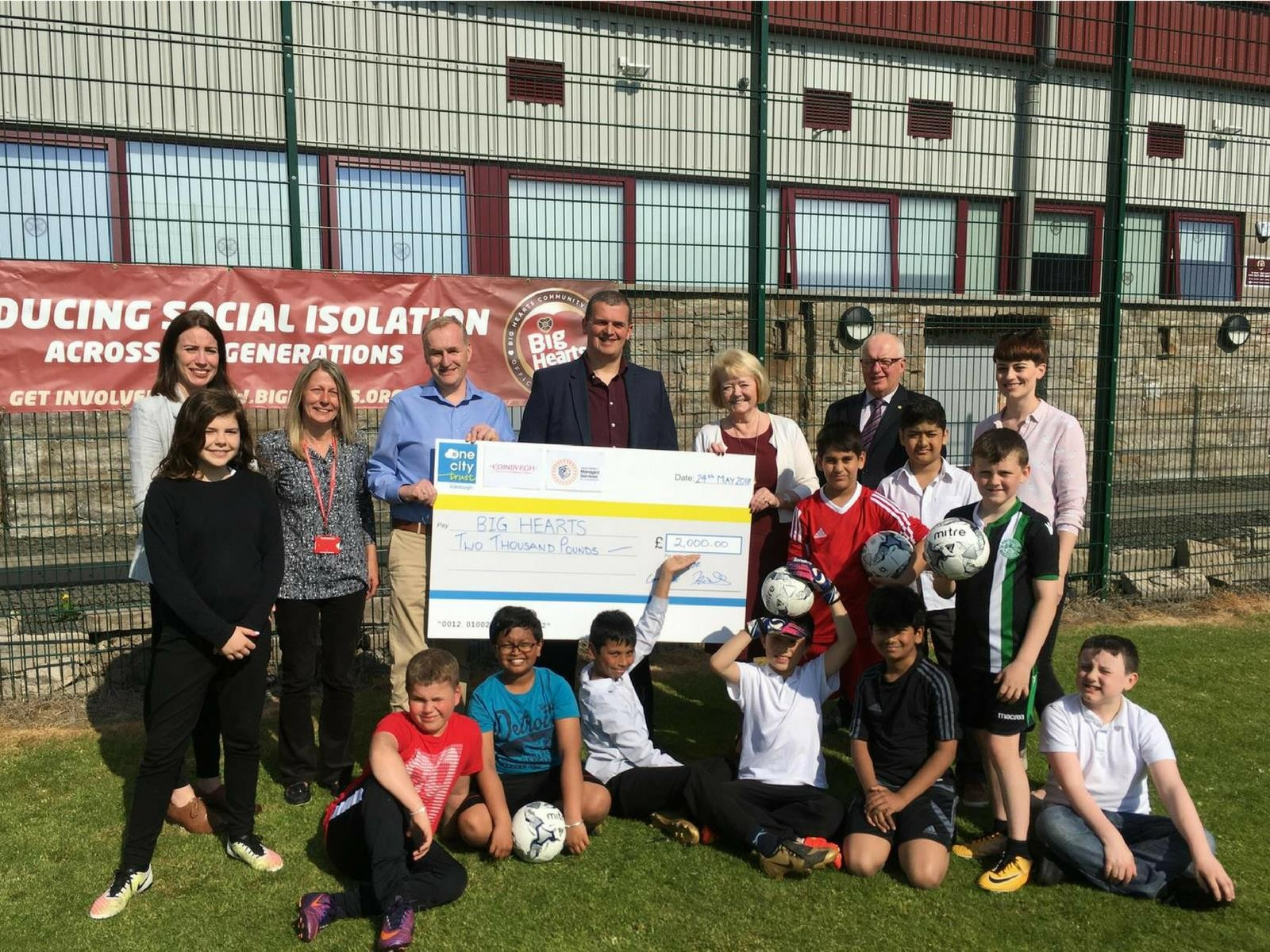 » Our T.E.A.M Project receives backing from the Lord Provost!