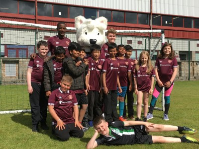 T.E.A.M Project – Amazing surprise for the launch of Hearts' new kit!