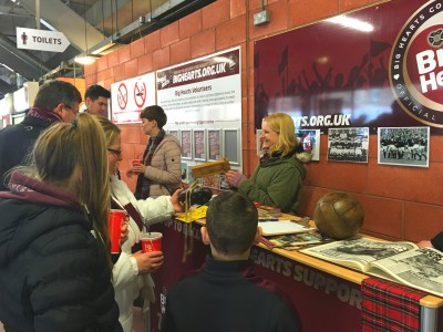 Big Hearts announces new plans for match day presence at Tynecastle!
