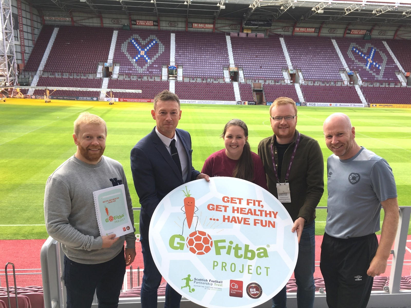 » GoFitba: Big Hearts leading health & wellbeing project in Gorgie/Dalry