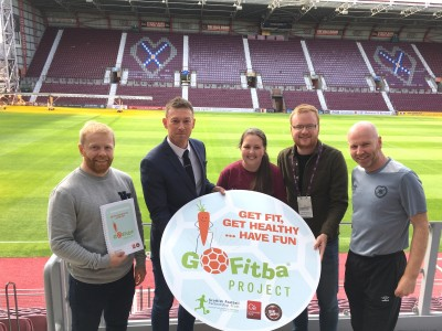 GoFitba: Big Hearts leading health & wellbeing project in Gorgie/Dalry