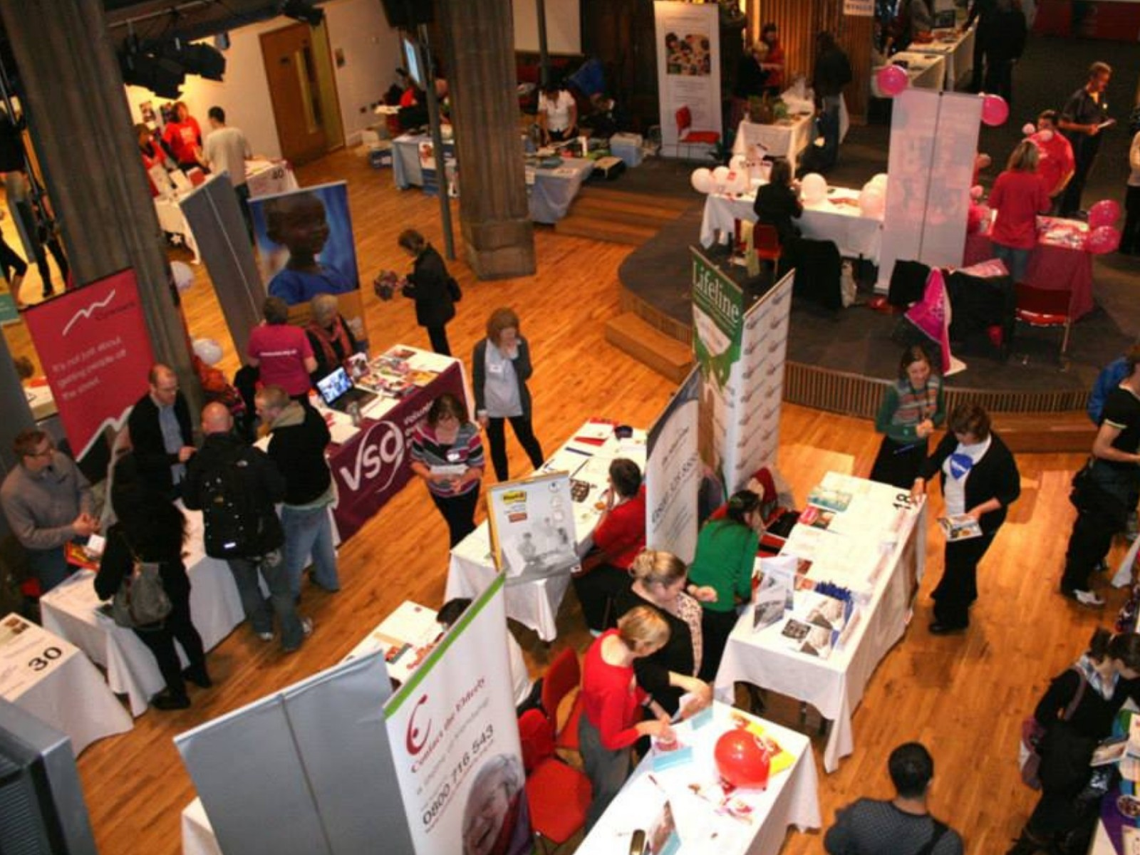 » Come meet Big Hearts at the 20th Edinburgh Volunteer Fair!