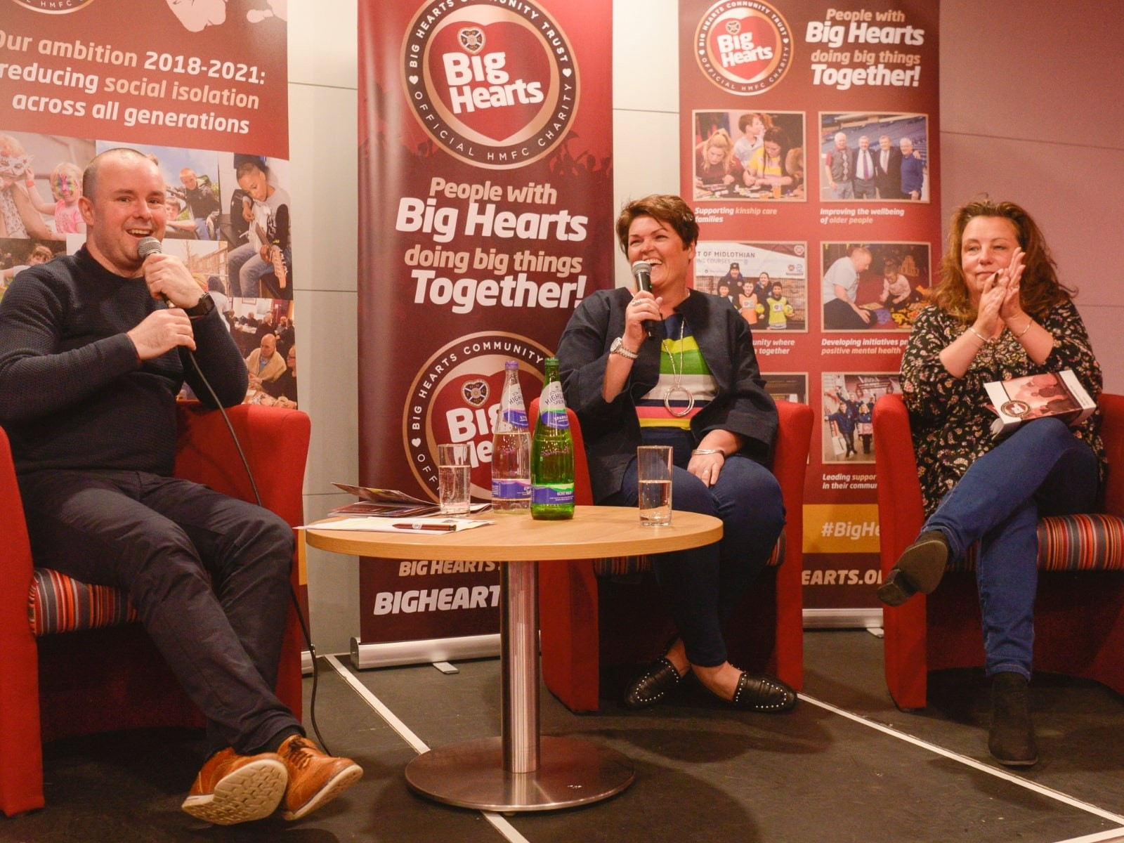 » An Evening With Big Hearts – Stories at the heart of our AGM 2018
