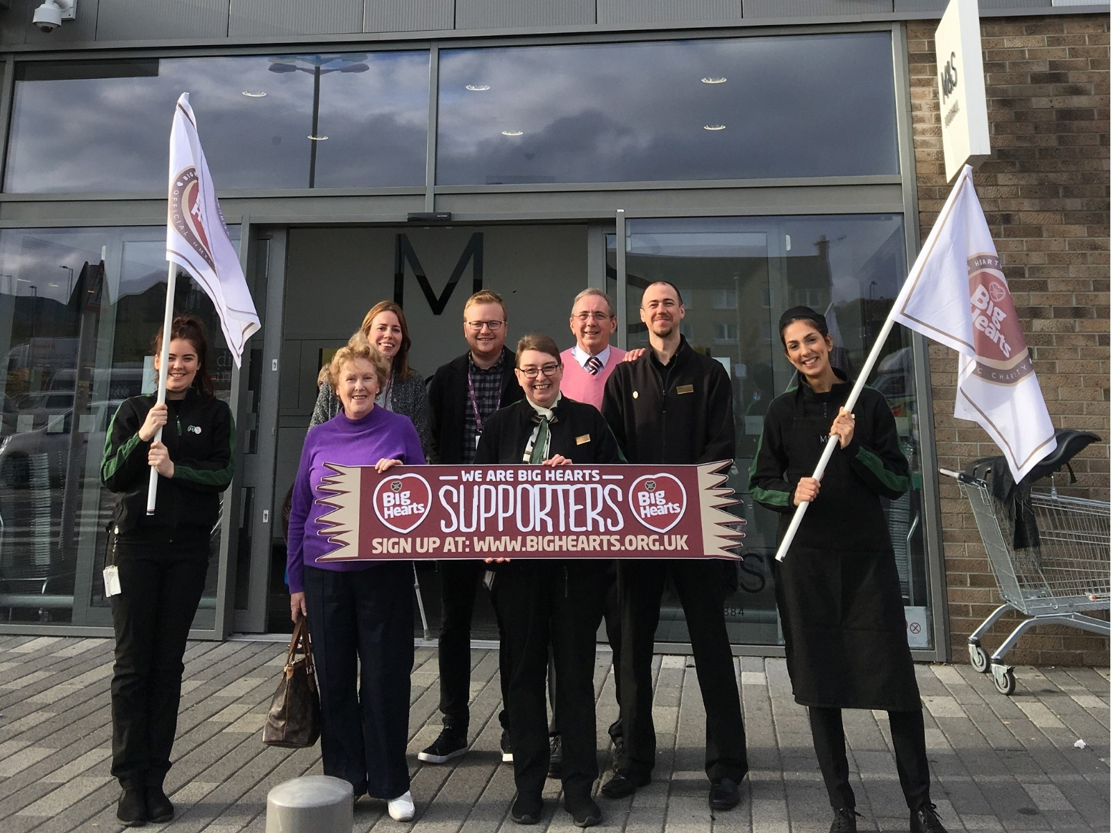 » M&S Edinburgh Chesser Avenue supporting Big Hearts!