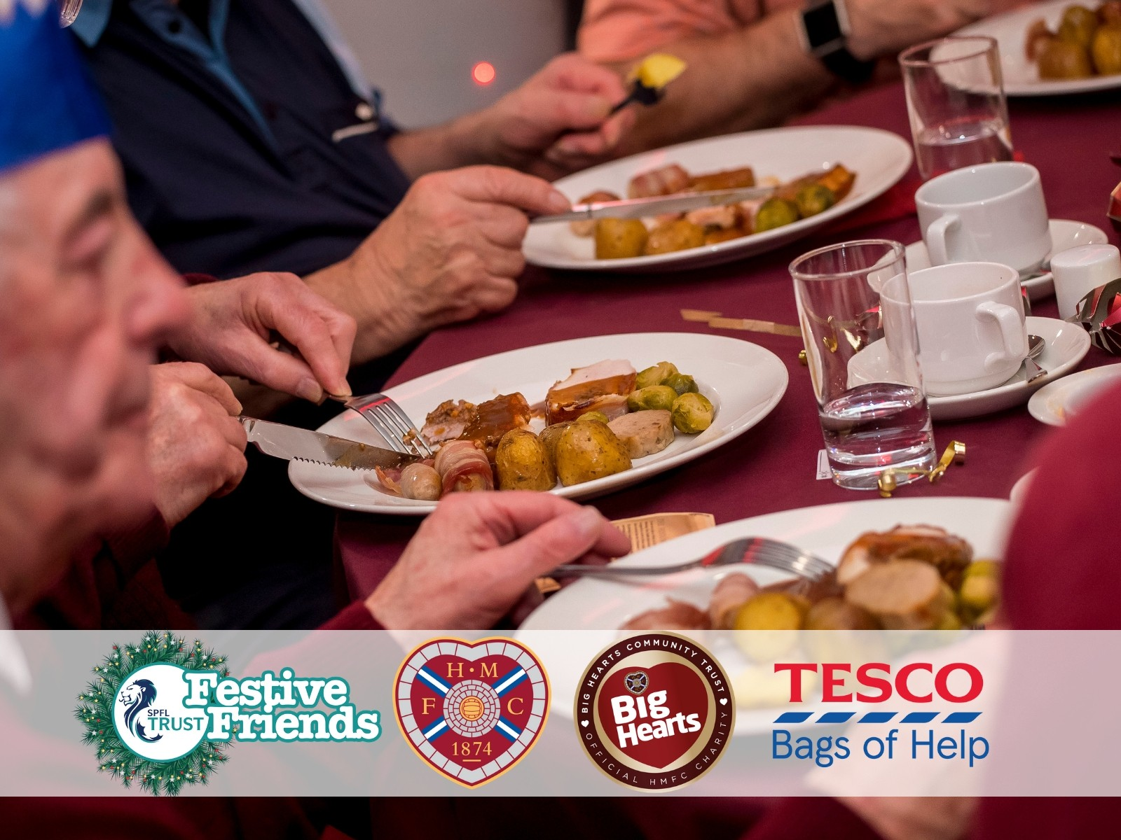 » Christmas Day Cheer: 100 to enjoy free festive meal with Big Hearts