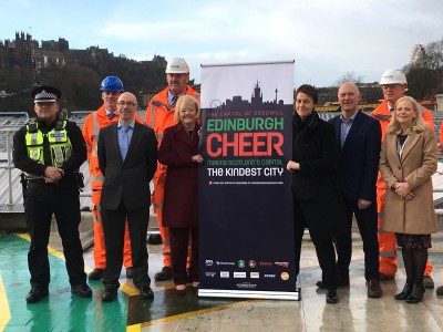 Big Hearts leading Edinburgh Cheer campaign for the 2nd year!