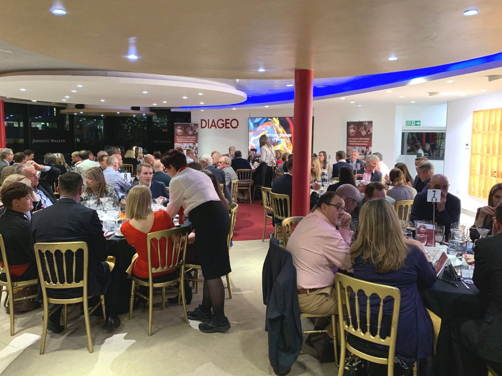 » Diageo show their big hearts at whisky fundraising dinner