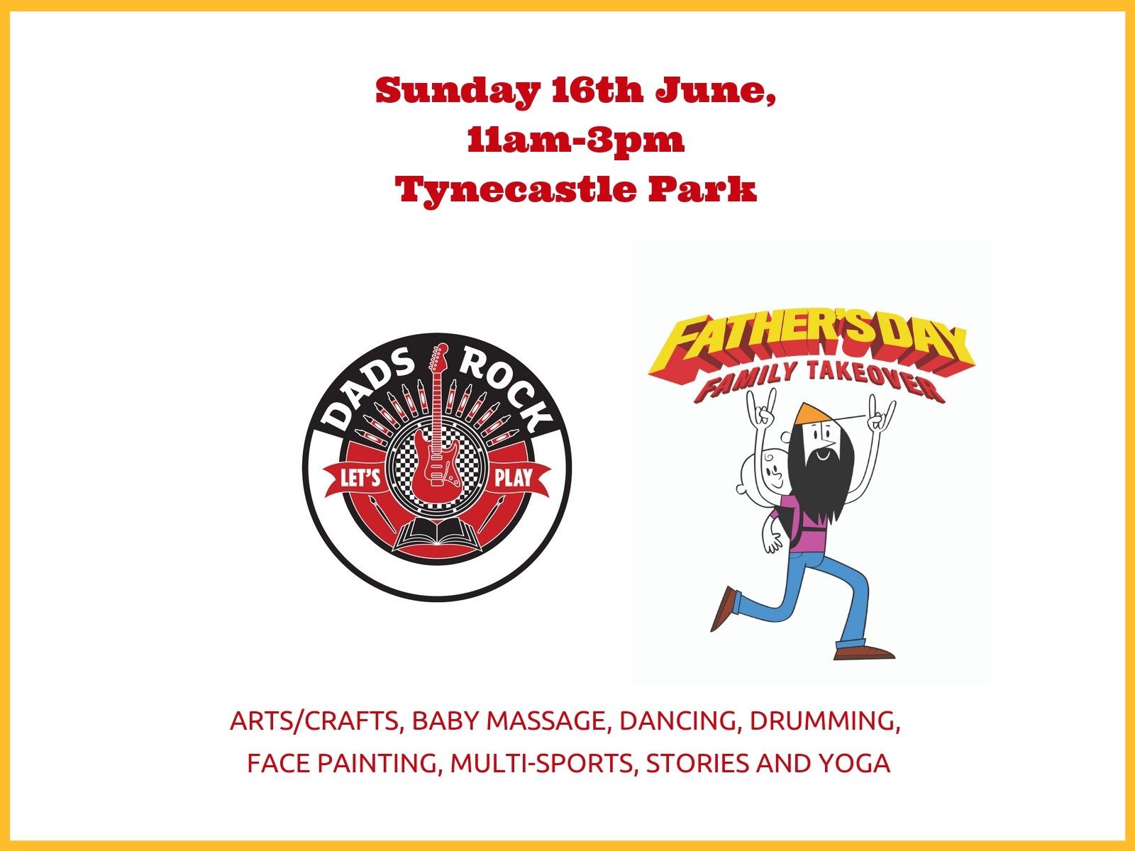 » Father's Day: Dads Rock brings Family Fun at Tynecastle Park!