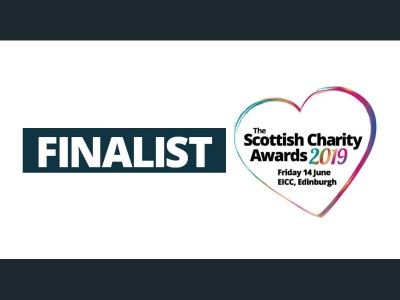 Big Hearts shortlisted for 2 Scottish Charity Awards!