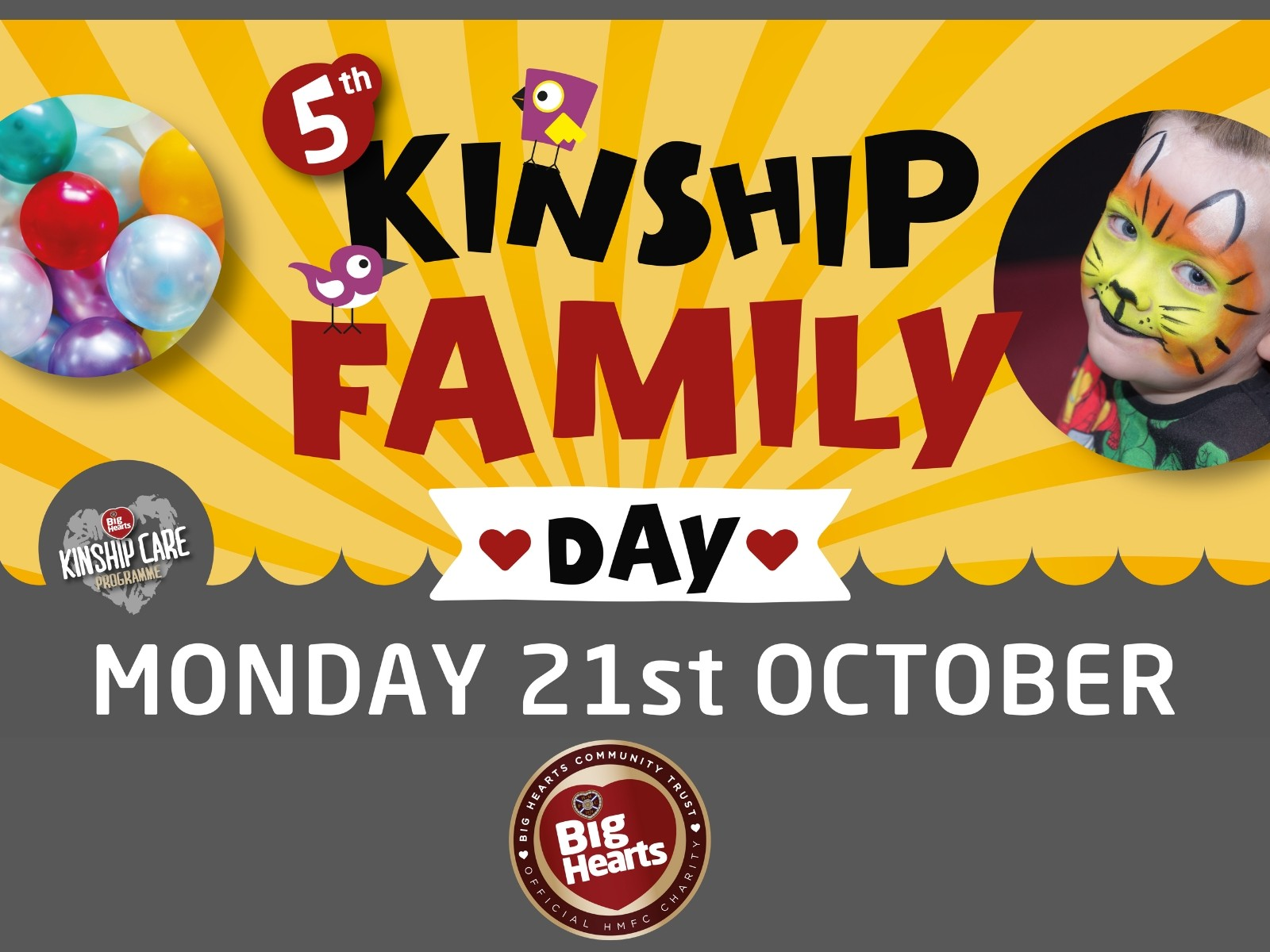 » Kinship Family Day – Registrations open to attend our 5th Open Day!