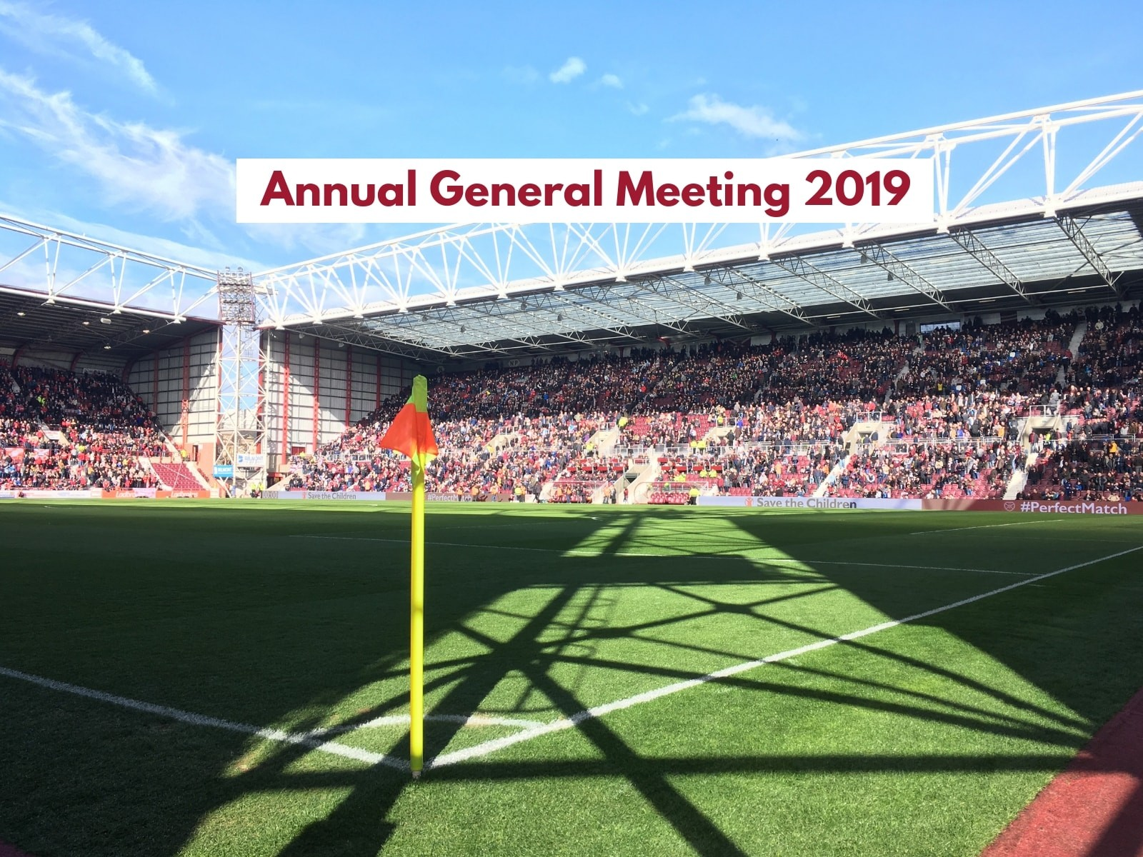 » Save the date: Our 2019 Annual General Meeting on 8 October