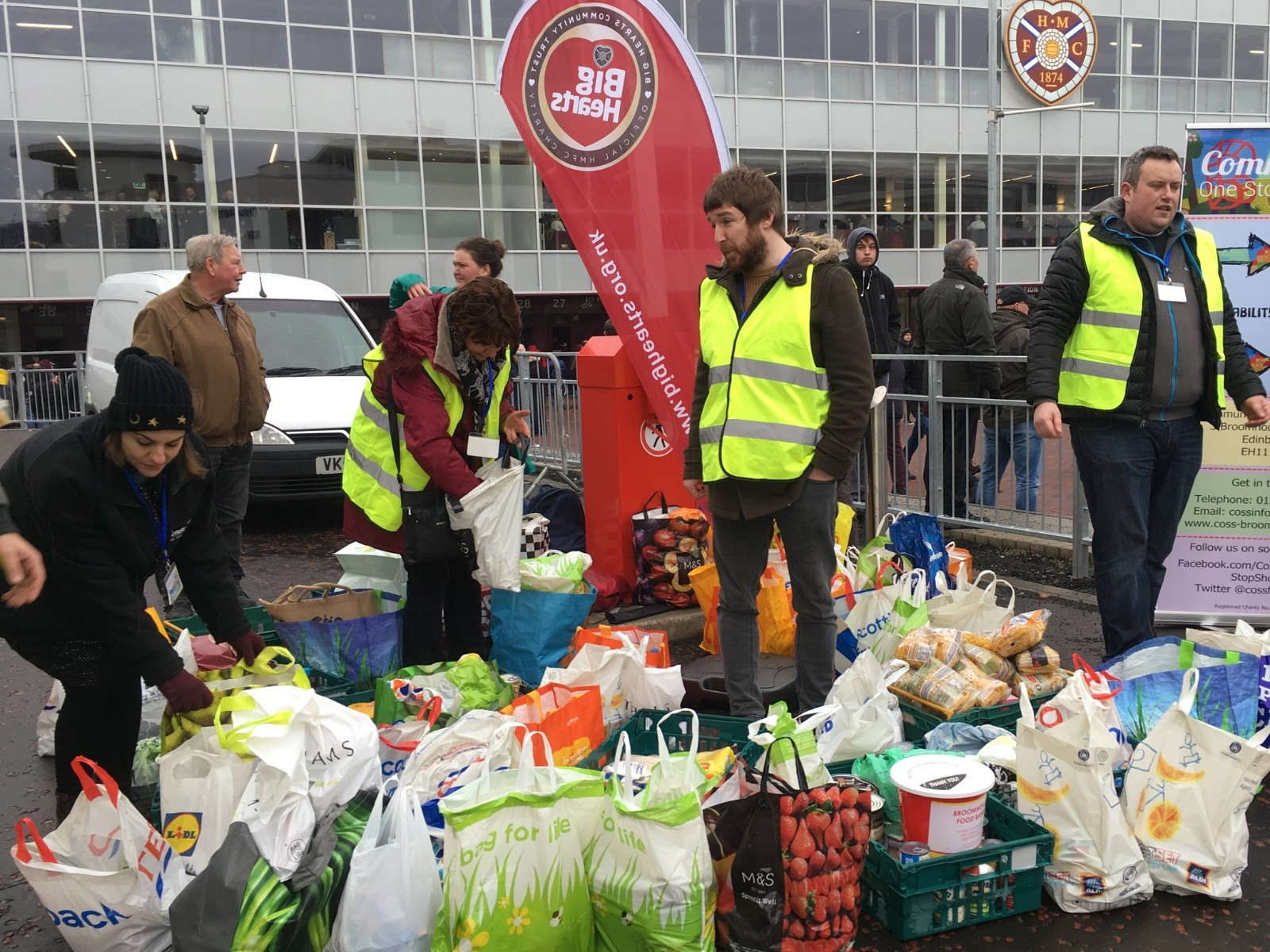 » Tynecastle Foodbank Collection –  Sunday 20th October, 10AM – 12:30PM