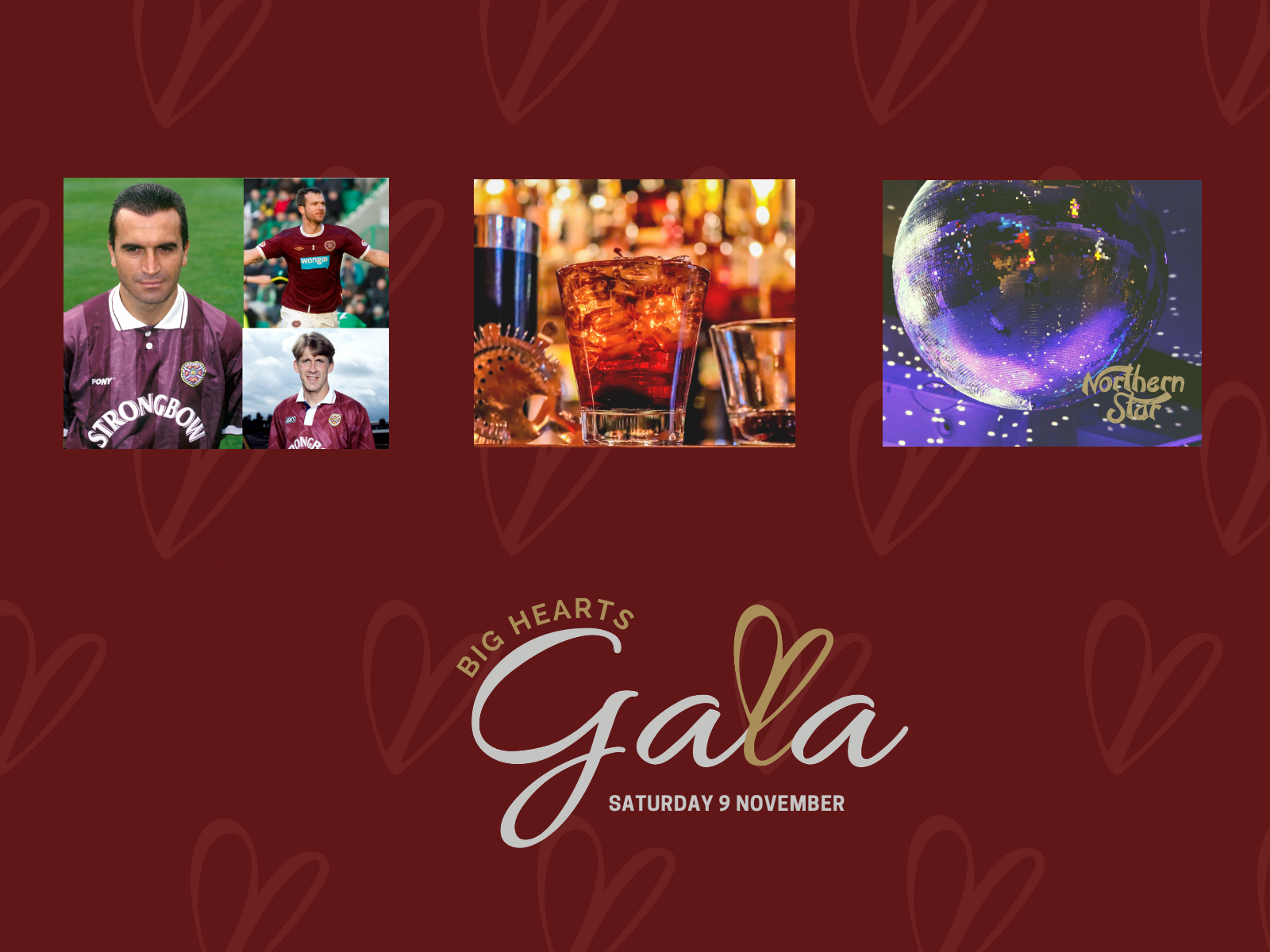 » Big Hearts Gala: Event details for Supporters