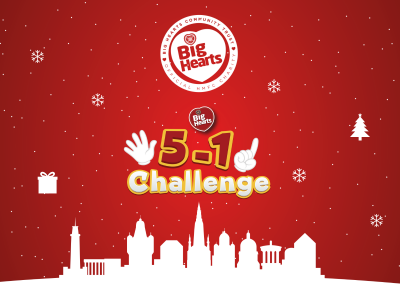 Take on the 5-1 challenge to make a positive difference at Christmas!
