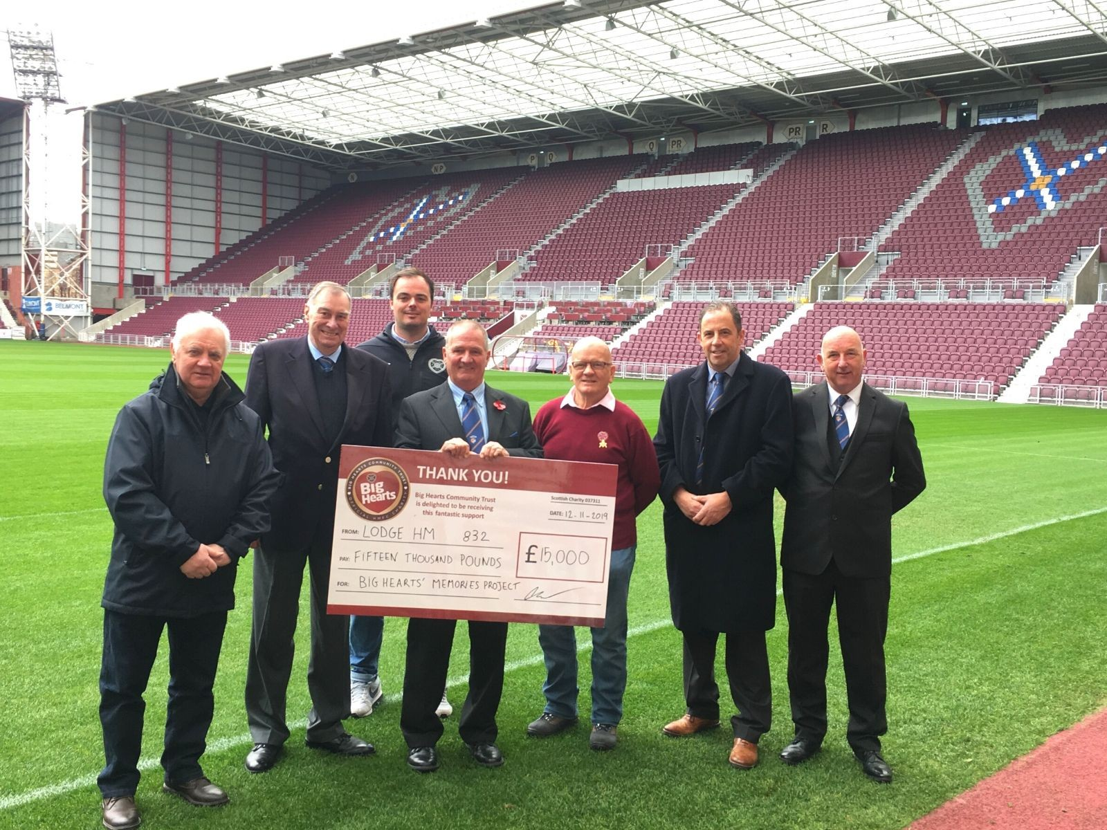 » 3-year funding announced for Big Hearts Memories programme