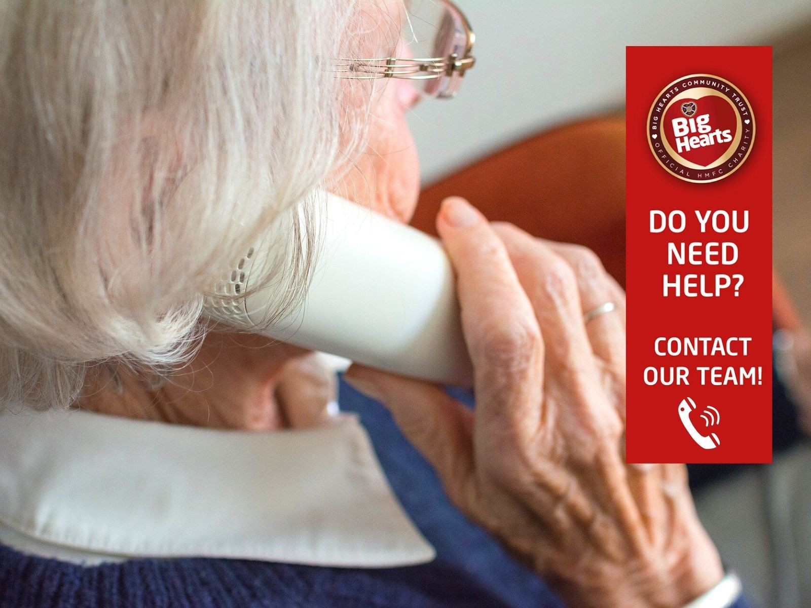 » Big Hearts launching helplines to maintain vital support amid Covid-19
