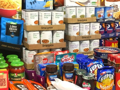 VIRTUAL FOOD DRIVE IN AID OF THE COMMUNITY ONE STOP SHOP