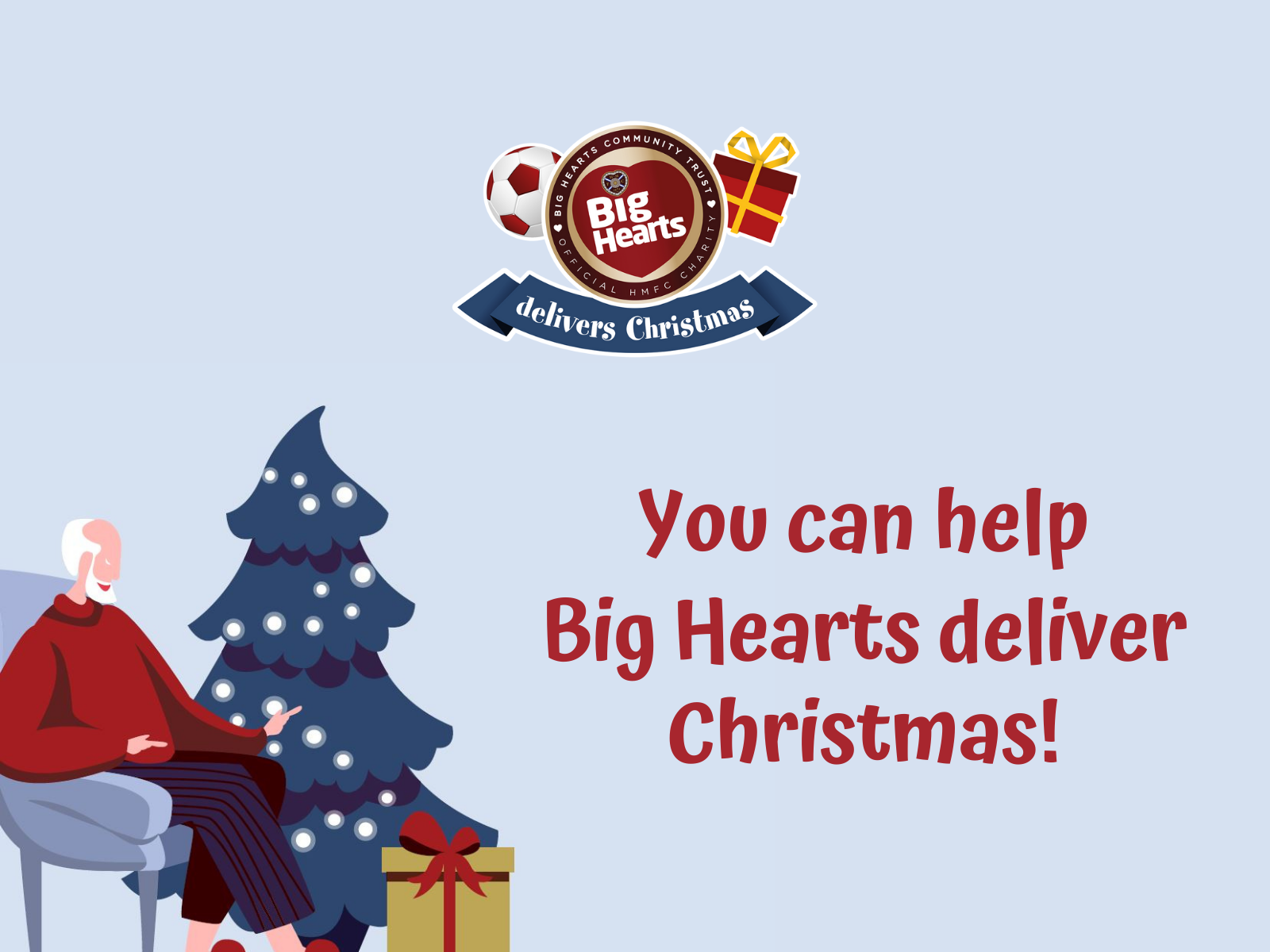 » THIS YEAR BIG HEARTS GOES ON THE ROAD TO DELIVER CHRISTMAS!