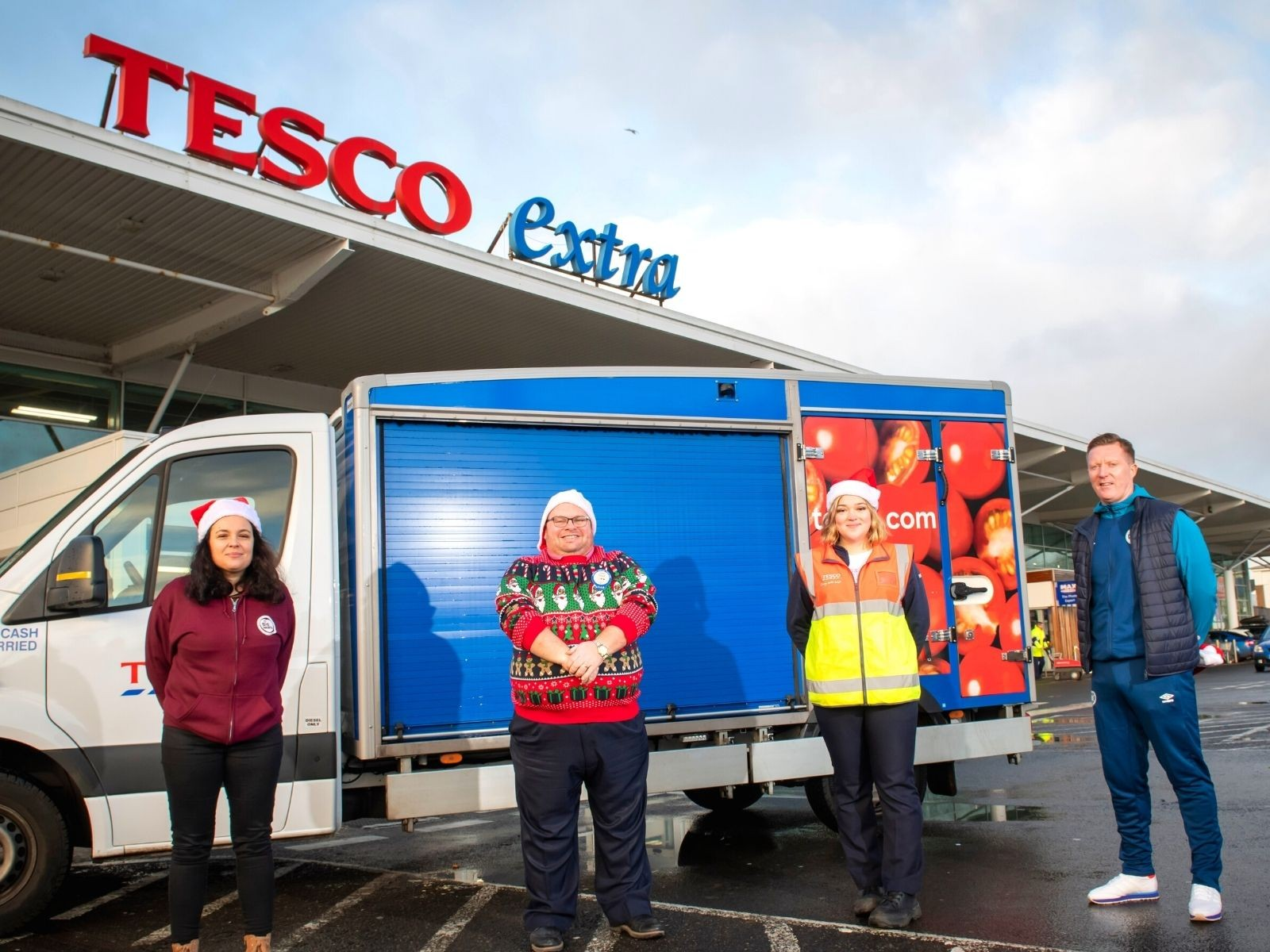 » Tesco supporting our Christmas efforts for a fourth year!