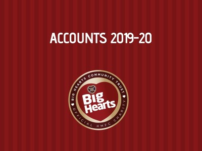 FINANCIAL POSITION: BIG HEARTS ACCOUNTS 2019-20 NOW AVAILABLE