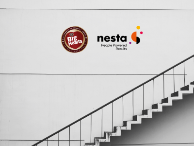 BIG HEARTS TEAM UP WITH NESTA TO BUILD NEW 2022-2025 STRATEGY