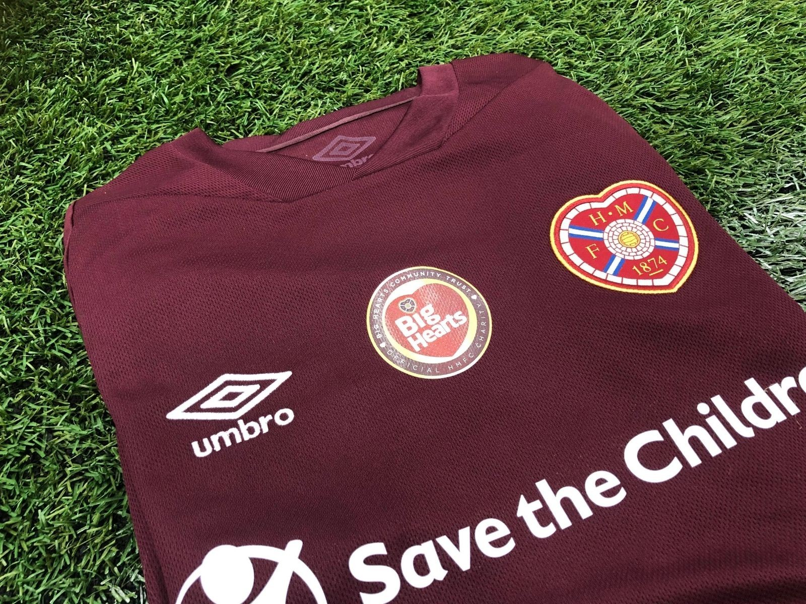 » HEARTS FIRST TEAM TO WEAR BIG HEARTS ON HOME SHIRTS THIS SATURDAY