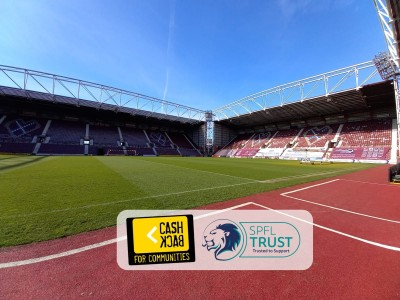 Off the bench: new youth initiative to launch at Tynecastle Park