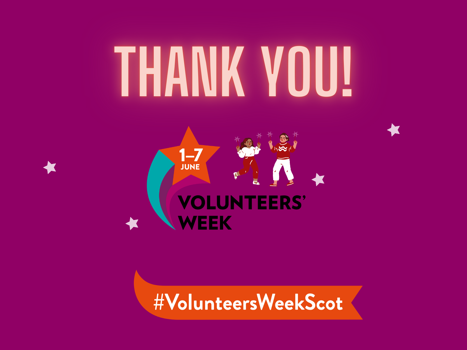 » A TIME TO SAY THANK YOU: CELEBRATING VOLUNTEERS WEEK 2021!