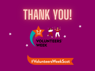 A TIME TO SAY THANK YOU: CELEBRATING VOLUNTEERS WEEK 2021!