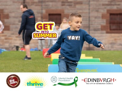 Big Hearts joins Scottish Government's 'Get Into Summer'
